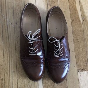 Shoes - Custom Leather Oxfords
